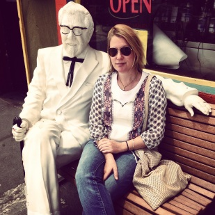 Jenny and the Colonel.